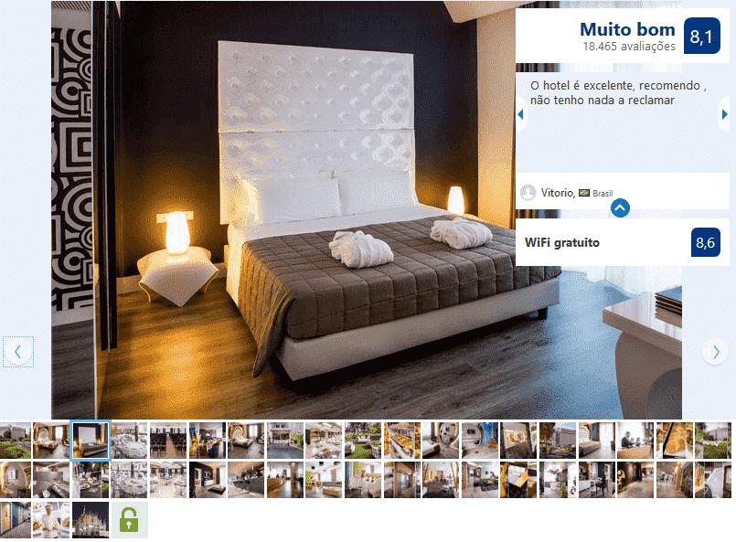 Hotel Da Vinci para ficar em Milão