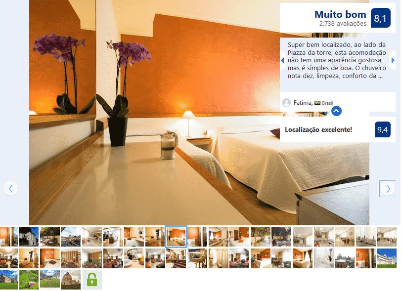 Hotel Roma para ficar em Pisa