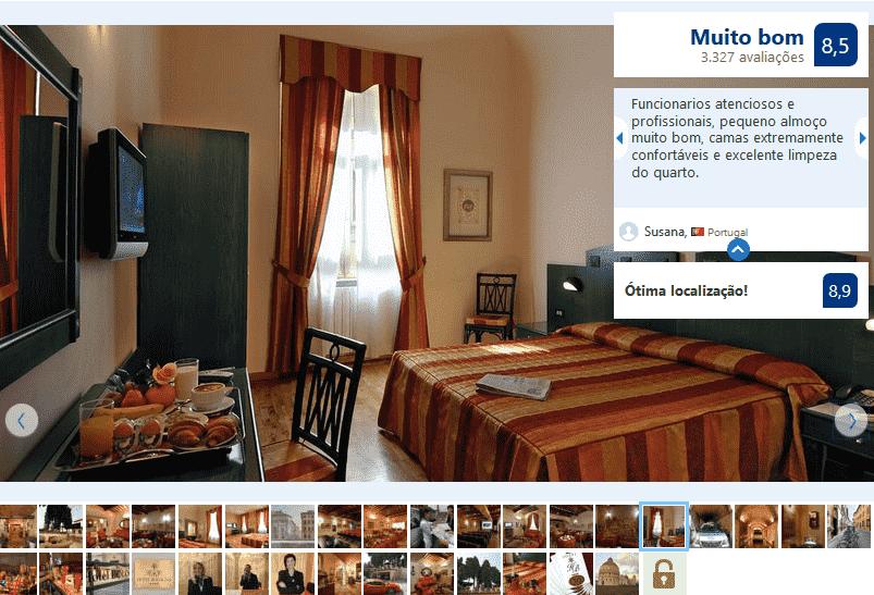 Hotel Bologna para ficar em Pisa