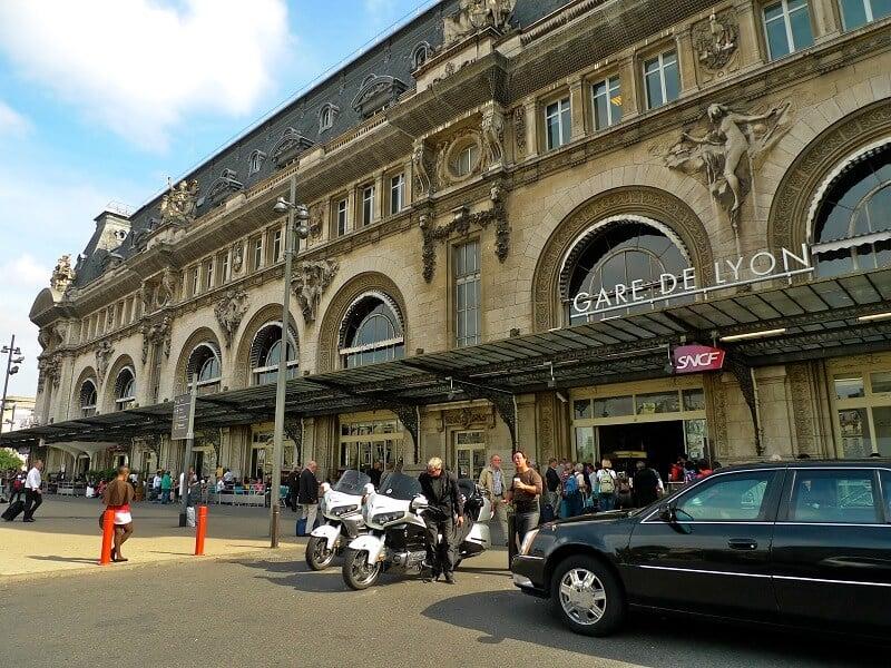 Estação Paris Gare de Lyon na França