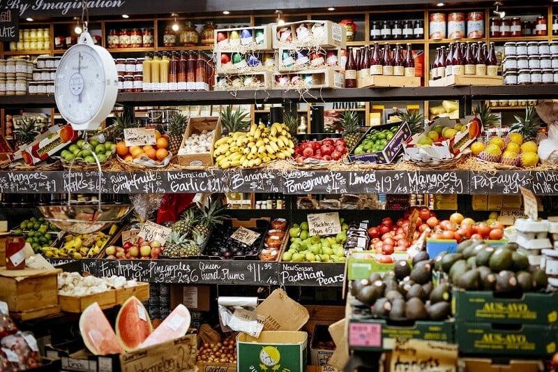 Loja de alimentos em Roma