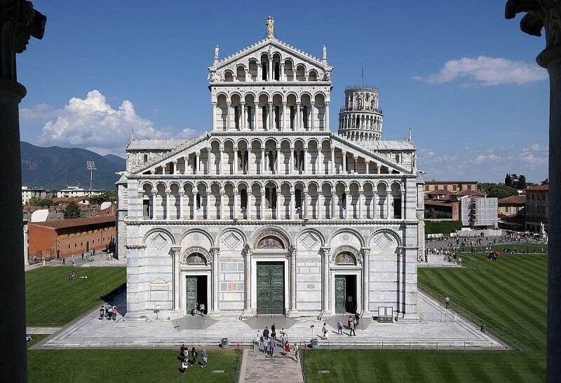 Catedral di Santa Maria Assunta em Pisa na Toscana