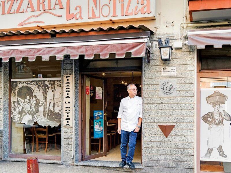 Pizzaria La Notizia 53 na Itália
