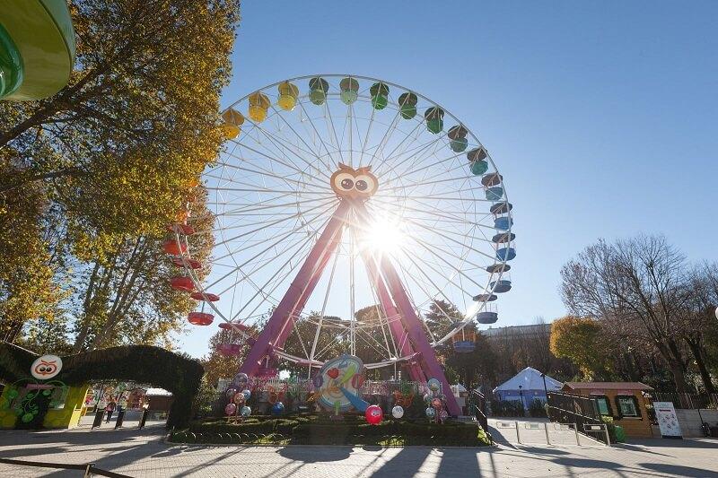 Roda gigante do Luneur Park em Roma