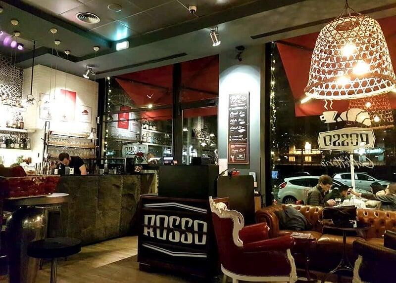 Restaurante Rosso em Roma na Itália
