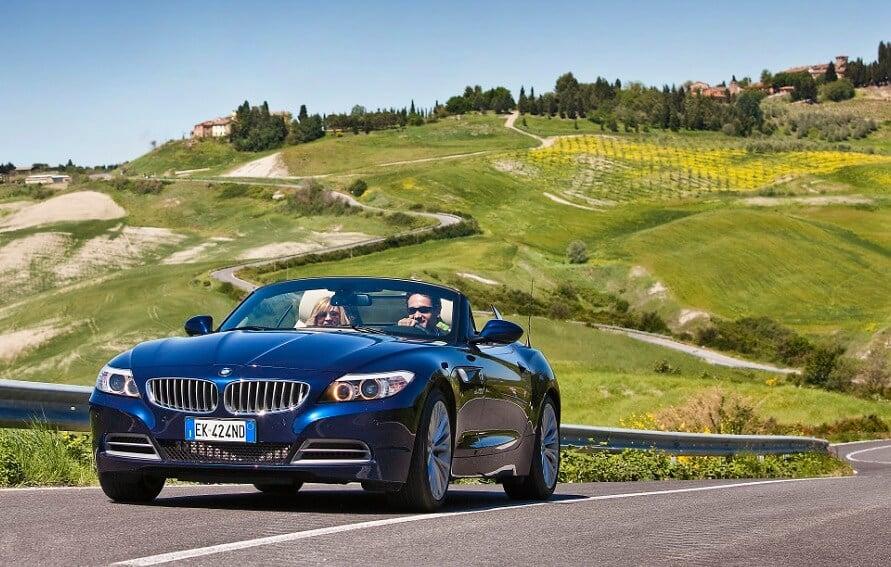 Viagem de carro pela Toscana e Itália