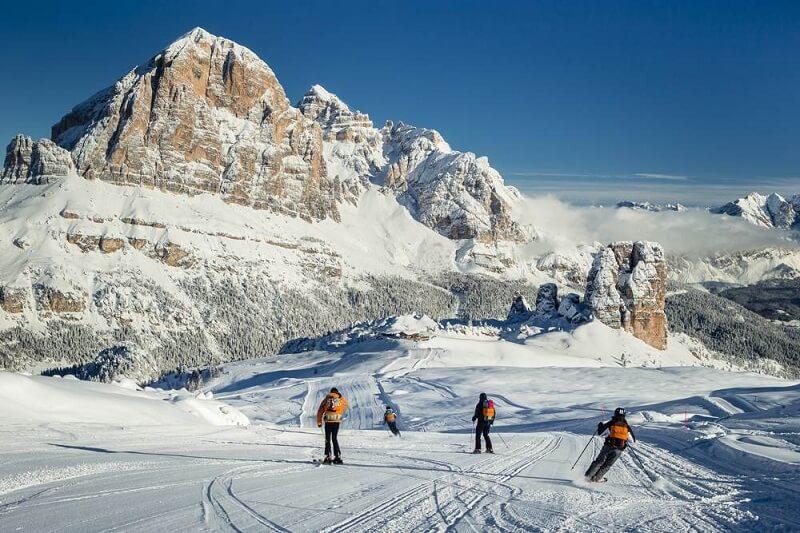 Cortina d'Ampezzo na Itália