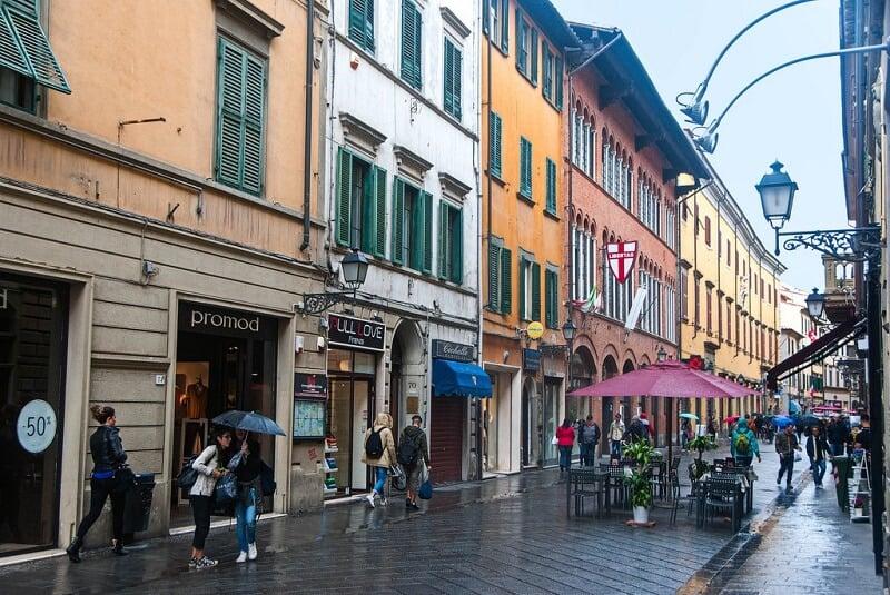 Corso Itália em Pisa