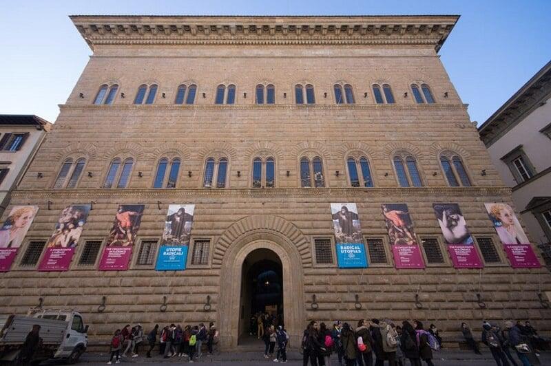 Fachada do Palazzo Strozzi em Florença