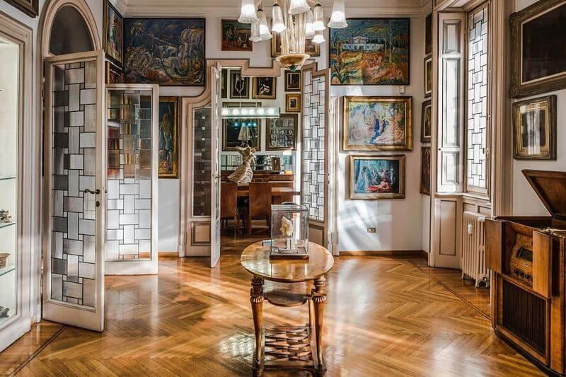 Casa-Museu Boschi Di Stefano em Milão