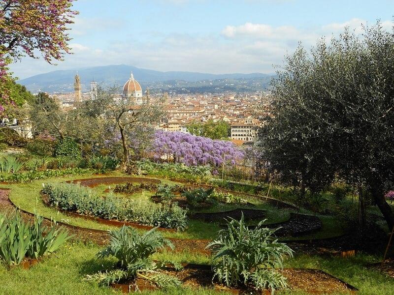 Vista do Giardino Bardini