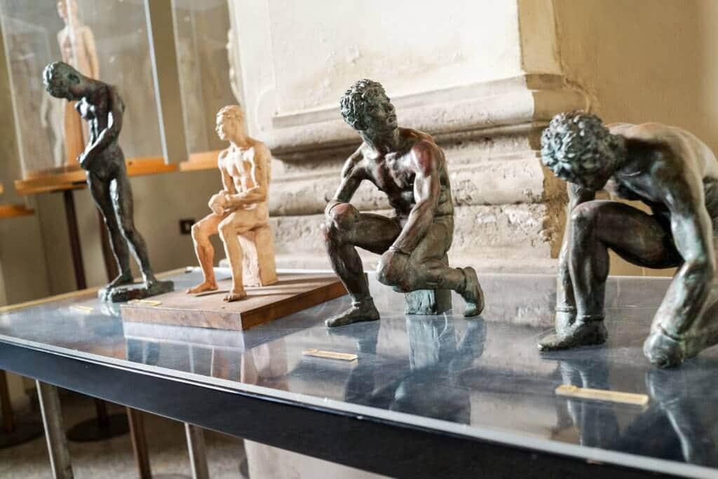 Obras expostas no Museu Studio Francesco Messina