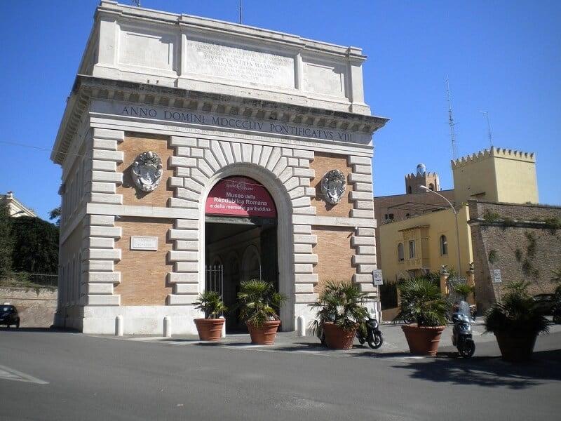 Museu da República Romana e as Memórias de Garibaldi