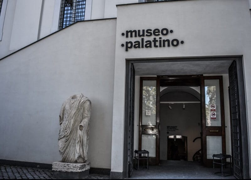 Entrada do Museu Palatino