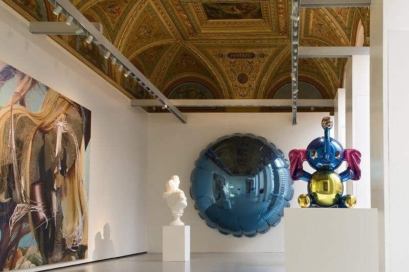 Obras expostas no Palazzo Grassi