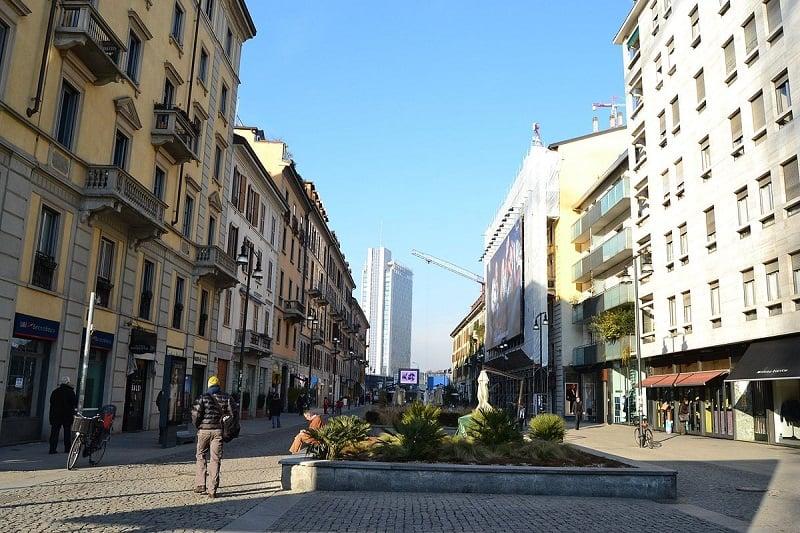Corso Como em Milão