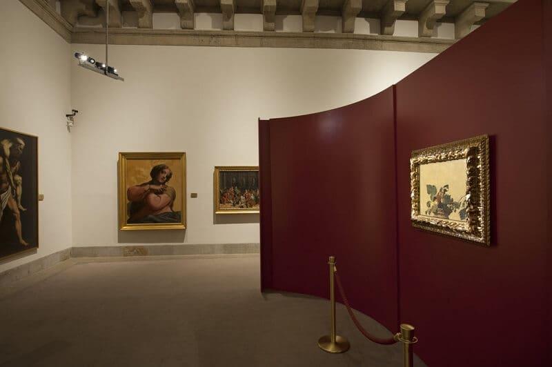 Pintura Cesta de Fruta exposta na Pinacoteca Ambrosiana