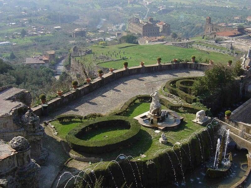 Vista da Villa d'Este