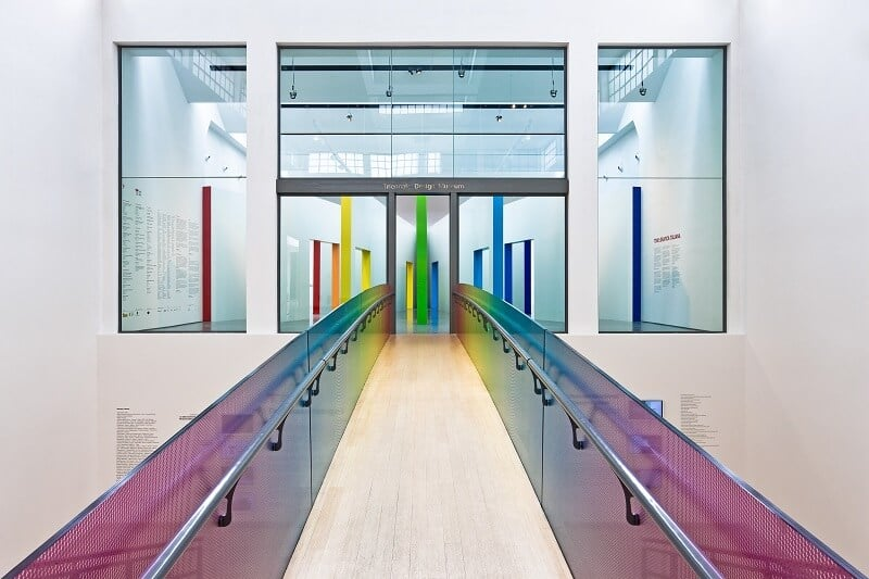 Interior do Museu La Triennale de Milão