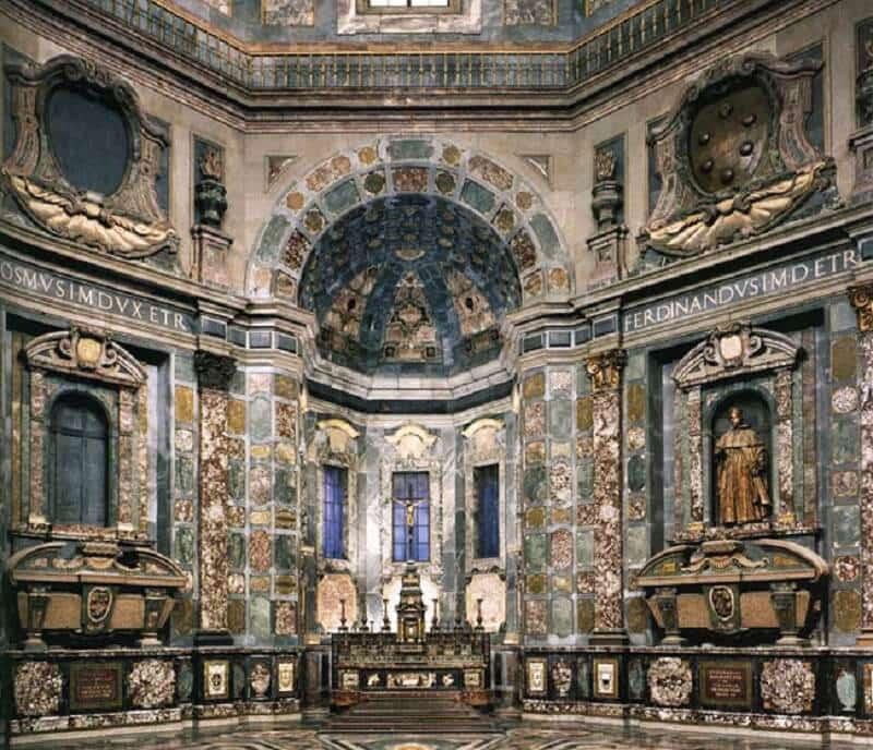 Interior da Capela dos Médici em Florença