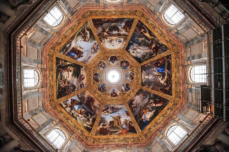 Teto da Capela dos Médici em Florença