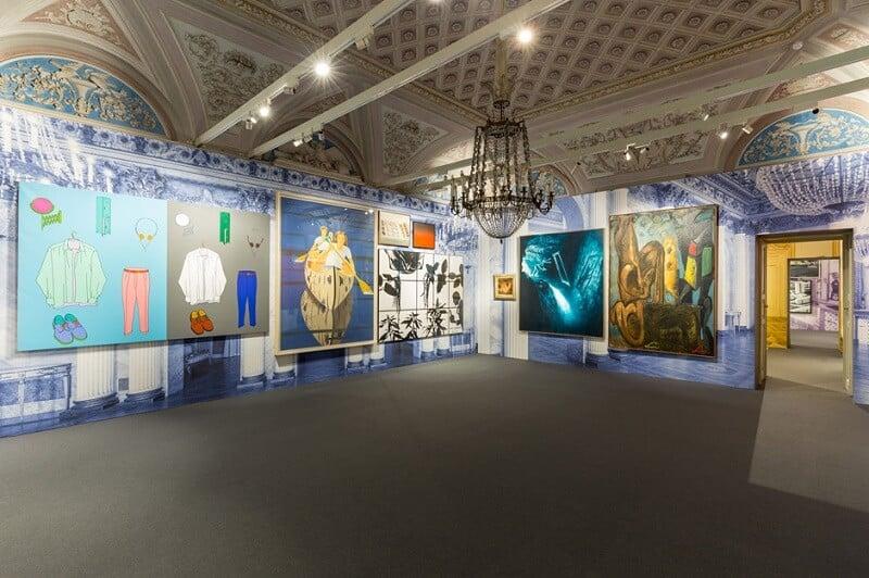 Obras expostas na Galeria de Arte Moderna de Milão