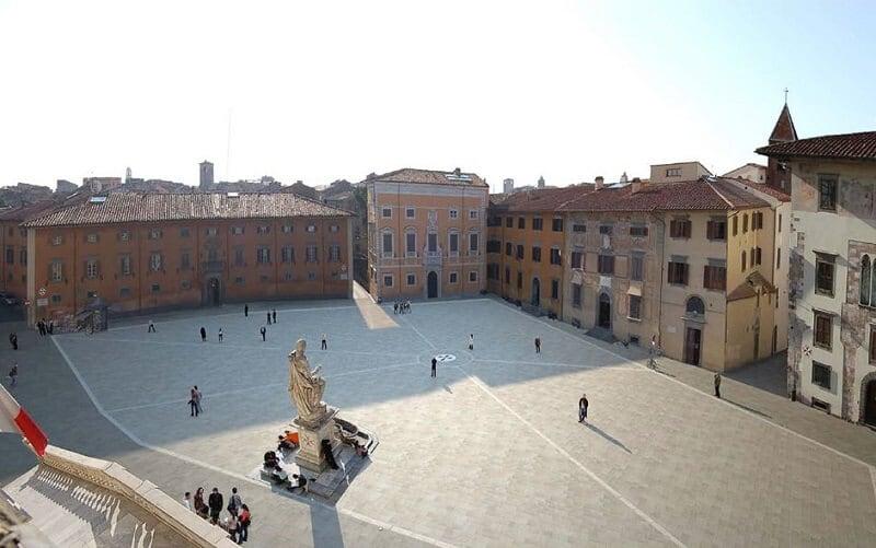 Piazza dei Cavalieri vista de cima
