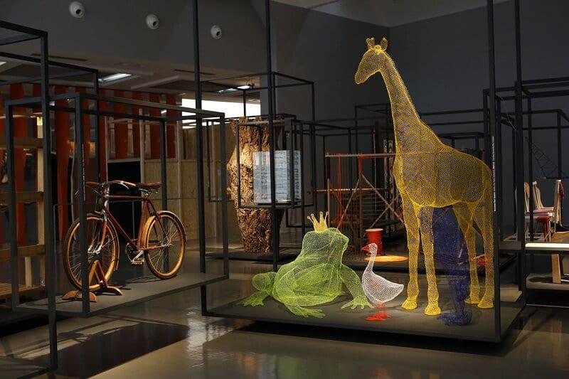 Obras expostas no La Triennale de Milão