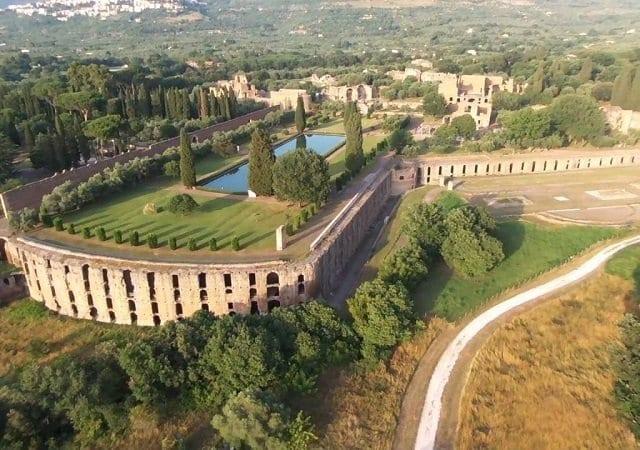 Villa Adriana em Tivoli