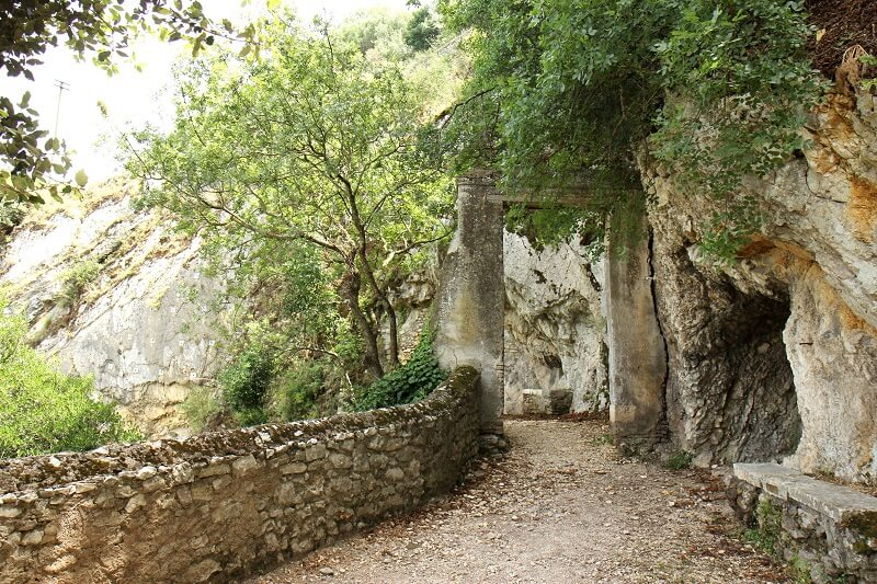 Caminho da Villa Gregoriana