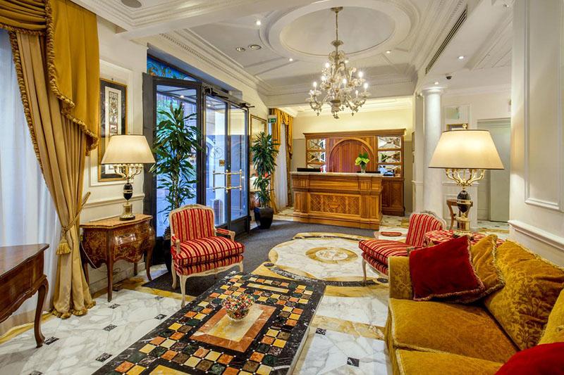 Hotéis de luxo em Roma